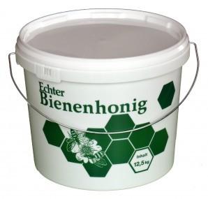 Kunststoff Honigeimer 12,5 kg Inhalt bedruckt